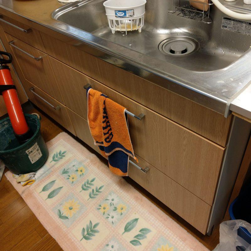 【台所排水詰まり】京都市