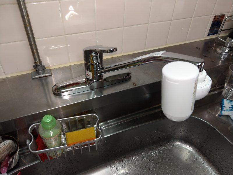 大阪市平野区水漏れ修理 台所蛇口交換