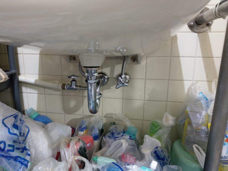 大阪市大正区洗面水漏れ修理