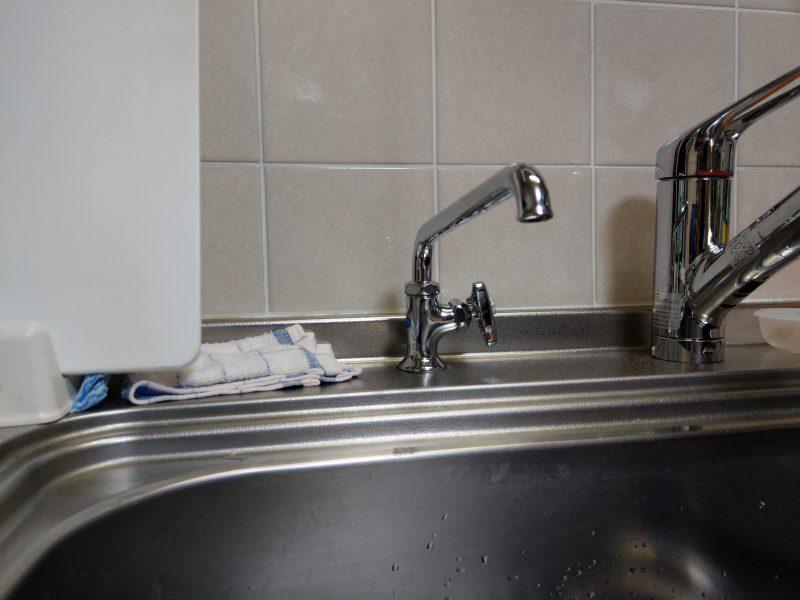 京都市伏見区蛇口水漏れ修理 浄水器専用蛇口