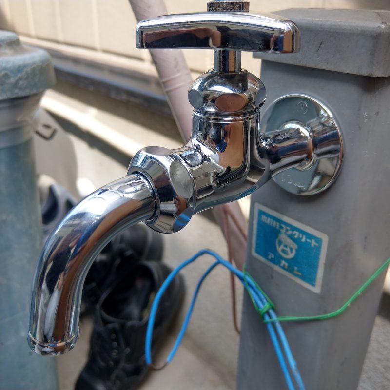大阪市平野区水漏れ修理 水栓柱蛇口交換