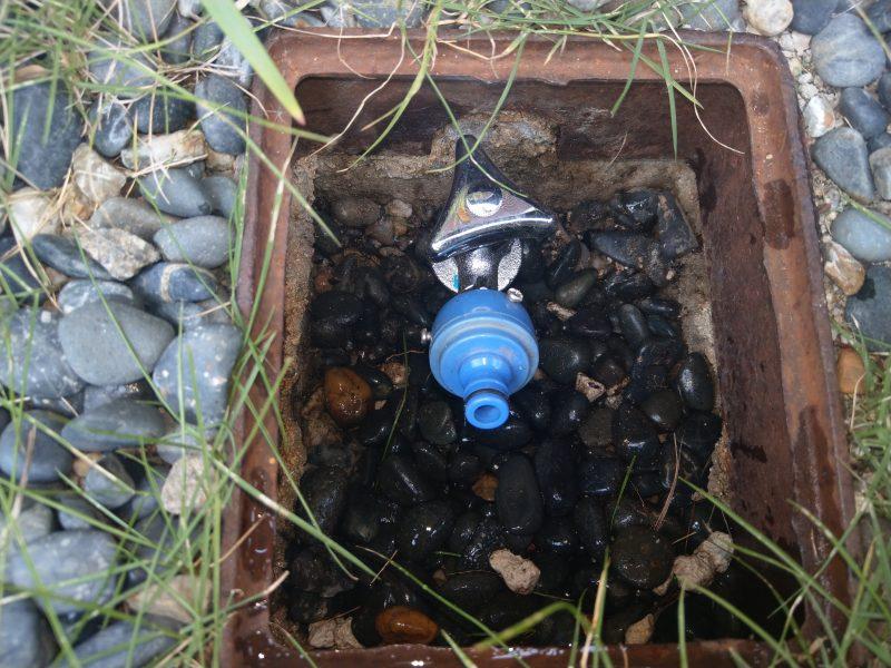 京都市西京区蛇口水漏れ修理 散水栓