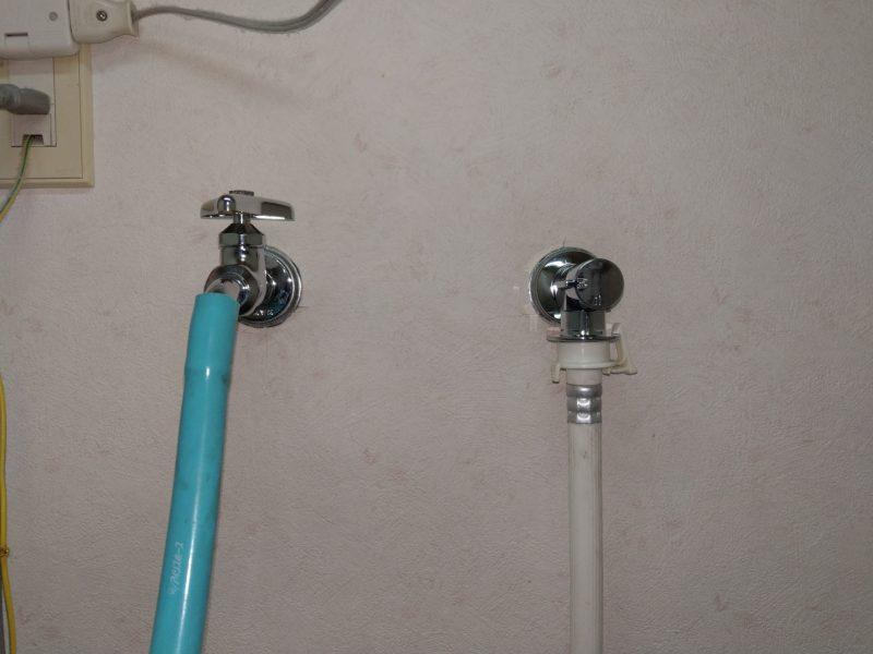 奈良市洗濯水栓水漏れ修理蛇口交換