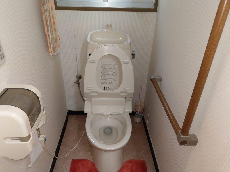 ウォシュレット一体型トイレの水漏れ修理依頼からトイレ交換工事(大阪府大阪市鶴見区今津北)