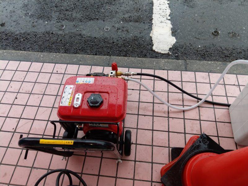 大阪府松原市でのトイレ排水詰まりの依頼