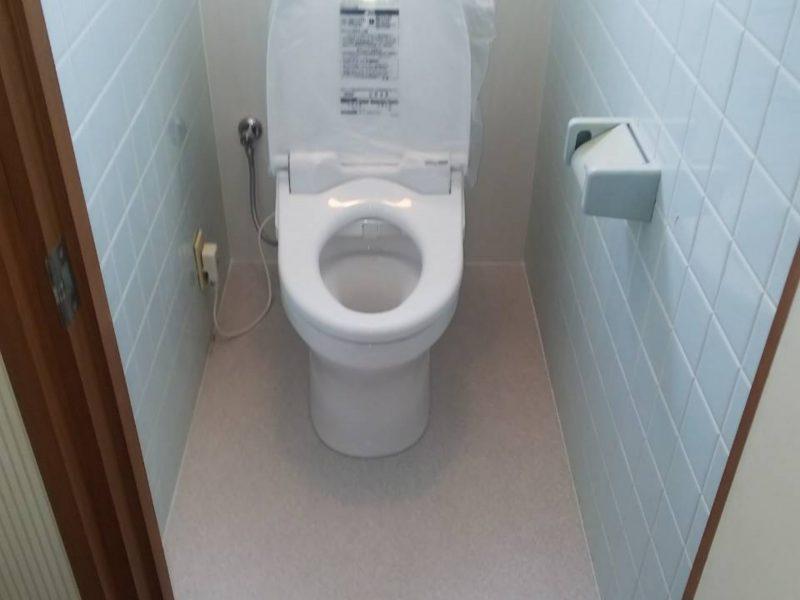 大阪府大阪市鶴見区茨田大宮でのトイレ水漏れ修理からトイレ工事