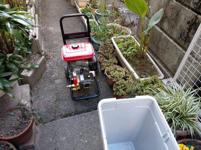 大阪府大阪市鶴見区鶴見での下水排水管高圧洗浄