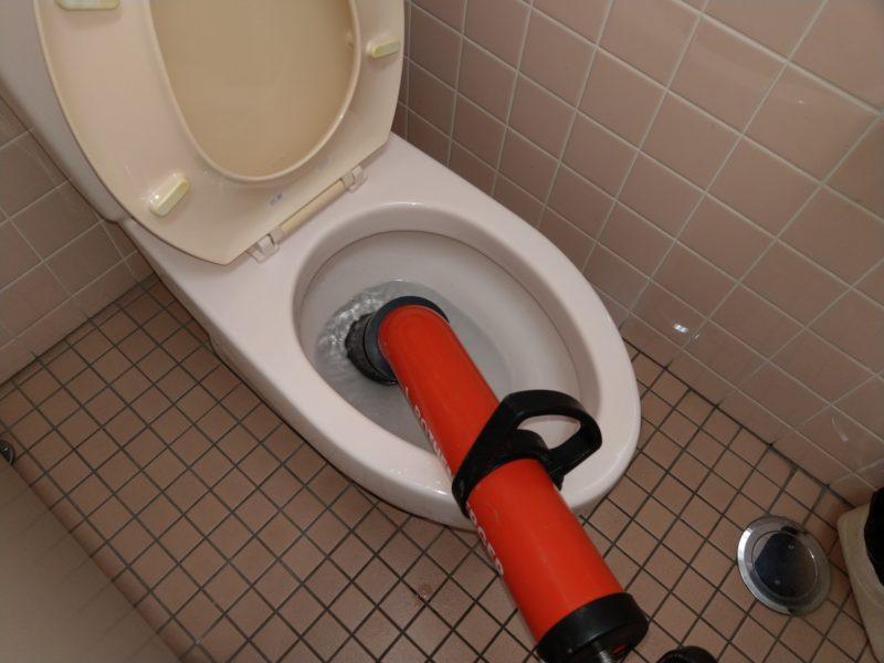 奈良県香芝市でのトイレ排水詰まりの依頼
