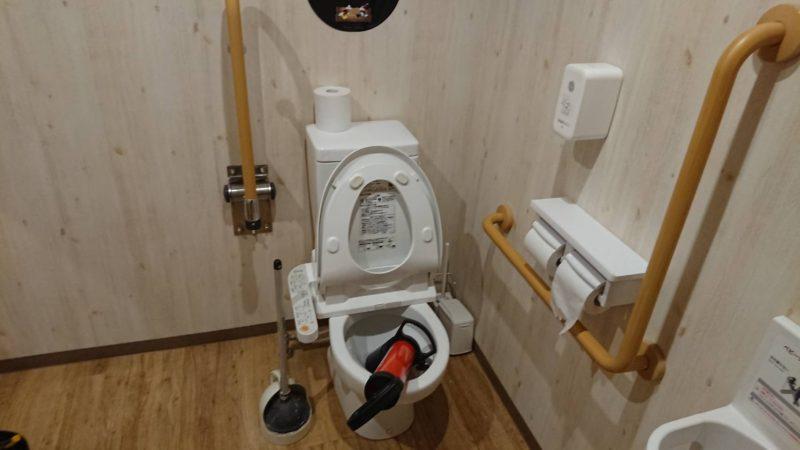 トイレが流れない、トイレ排水詰まりの依頼(大阪府大阪市鶴見区諸口)