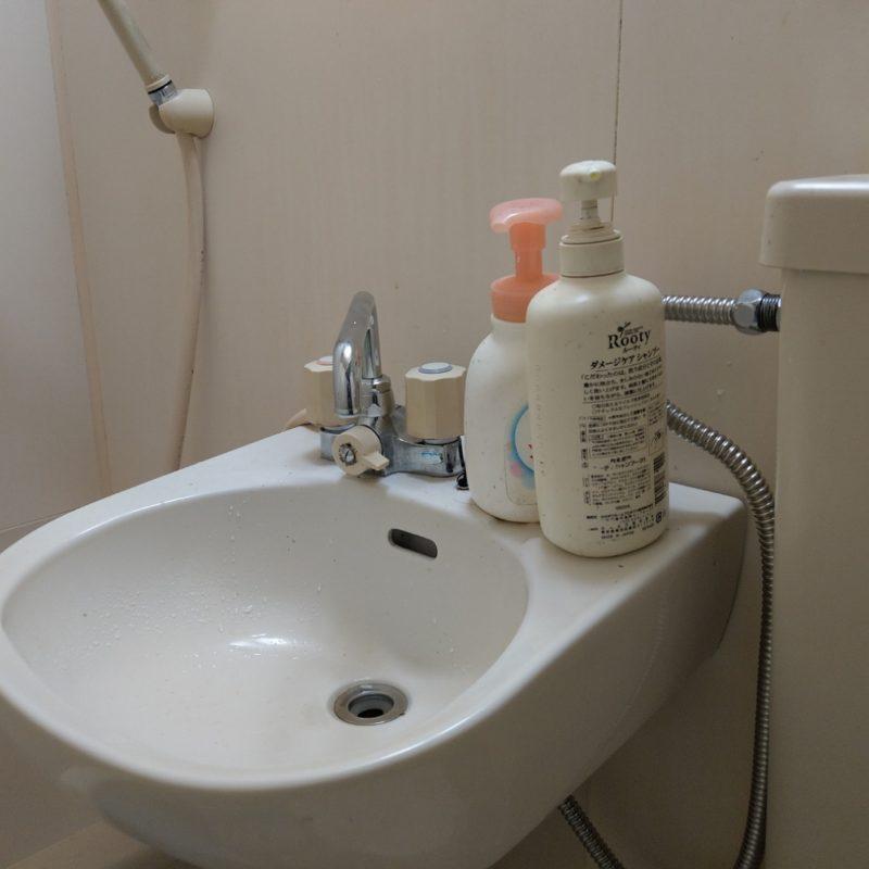 大阪府大阪市鶴見区徳庵での洗面蛇口とパイプからの水漏れ修理