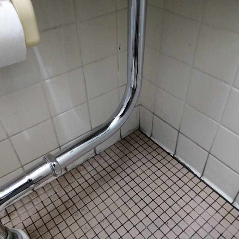 トイレ水漏れ修理(大阪府大阪市城東区鴫野西のマンション共用部)