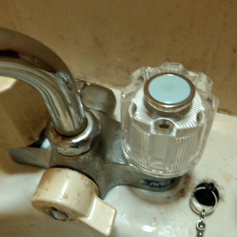 ❮応急水漏れ修理❯大阪府大阪市東成区中本での浴室蛇口が空回りし水が漏れる依頼