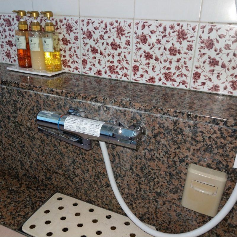 浴室蛇口水漏れから蛇口交換 LIXIL BM-WM145TSG(大阪府池田市)
