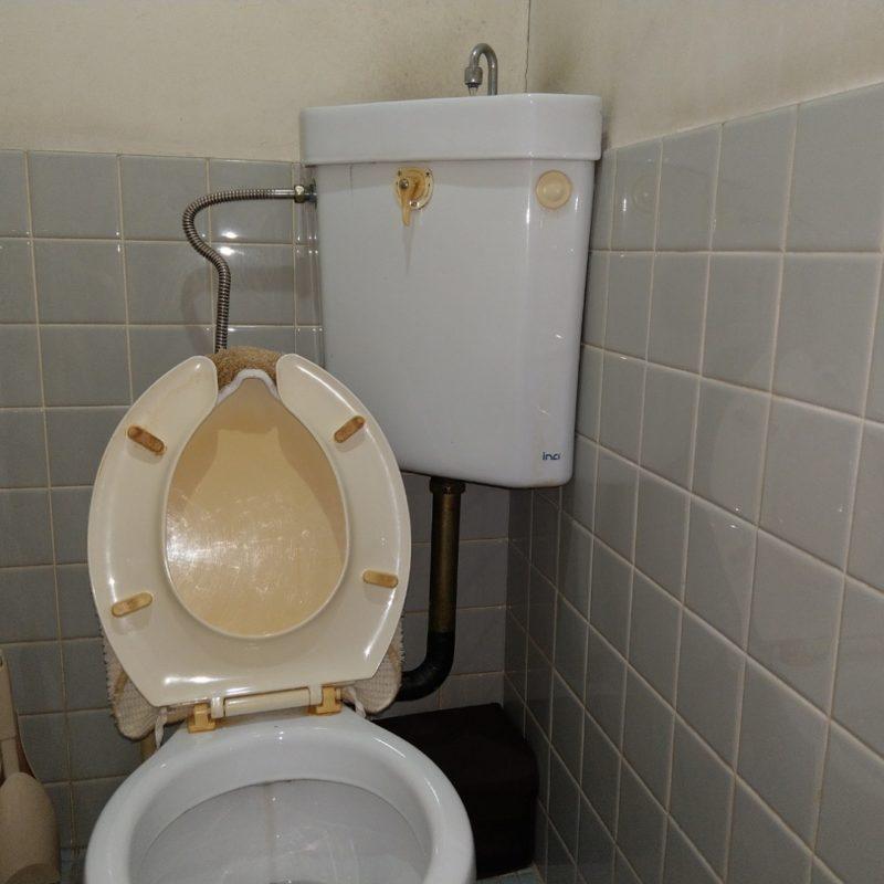 トイレ水が止まらない水漏れ修理の依頼(大阪府大阪市鶴見区放出東)