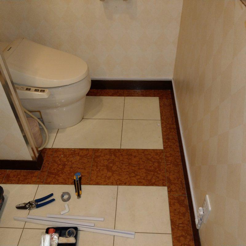 トイレウォシュレットノズルが出ない・トイレが流れない依頼(大阪府池田市)