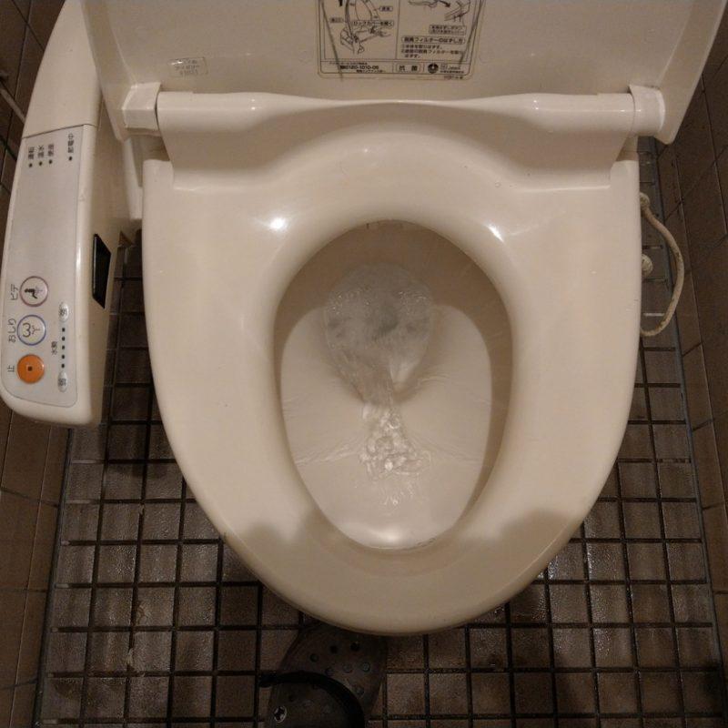 大阪府大阪市城東区蒲生でのトイレが詰まって流れない依頼