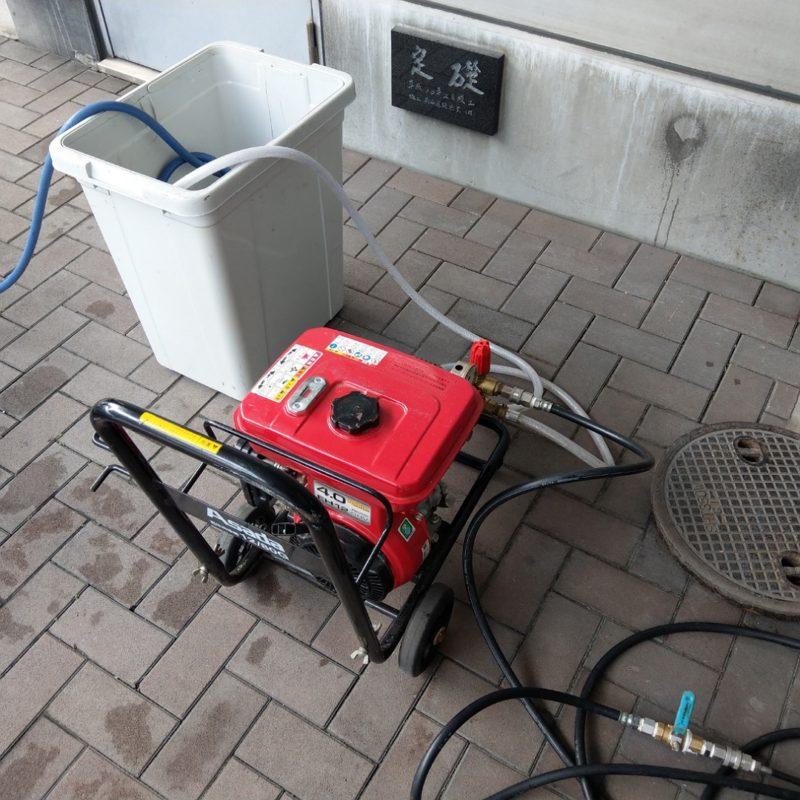 トイレ詰まり排水管洗浄(大阪市平野区)