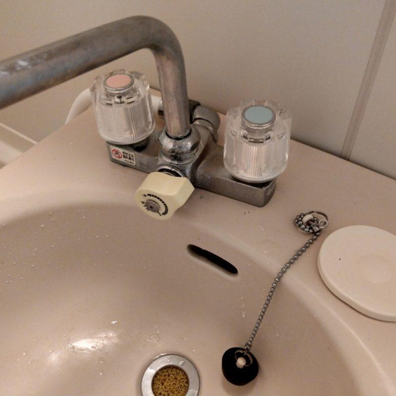 大阪府大阪市都島区友渕町での浴室蛇口と排水パイプ水漏れ修理の依頼