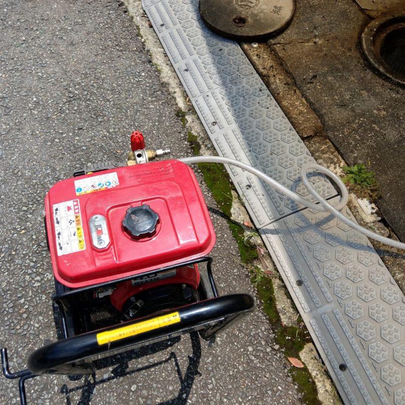 【高圧洗浄】排水管詰まり(大阪府大阪市鶴見区横堤)