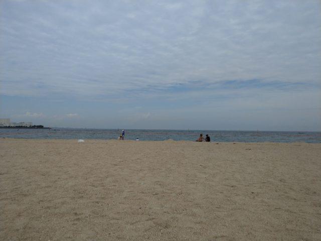 大阪府貝塚市澤の二色浜海水浴場