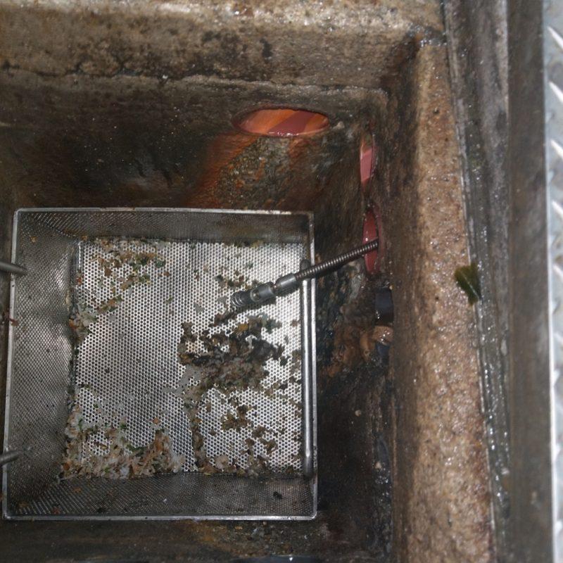 【キッチン排水管詰まり】大阪府大阪市城東区(飲食店様)