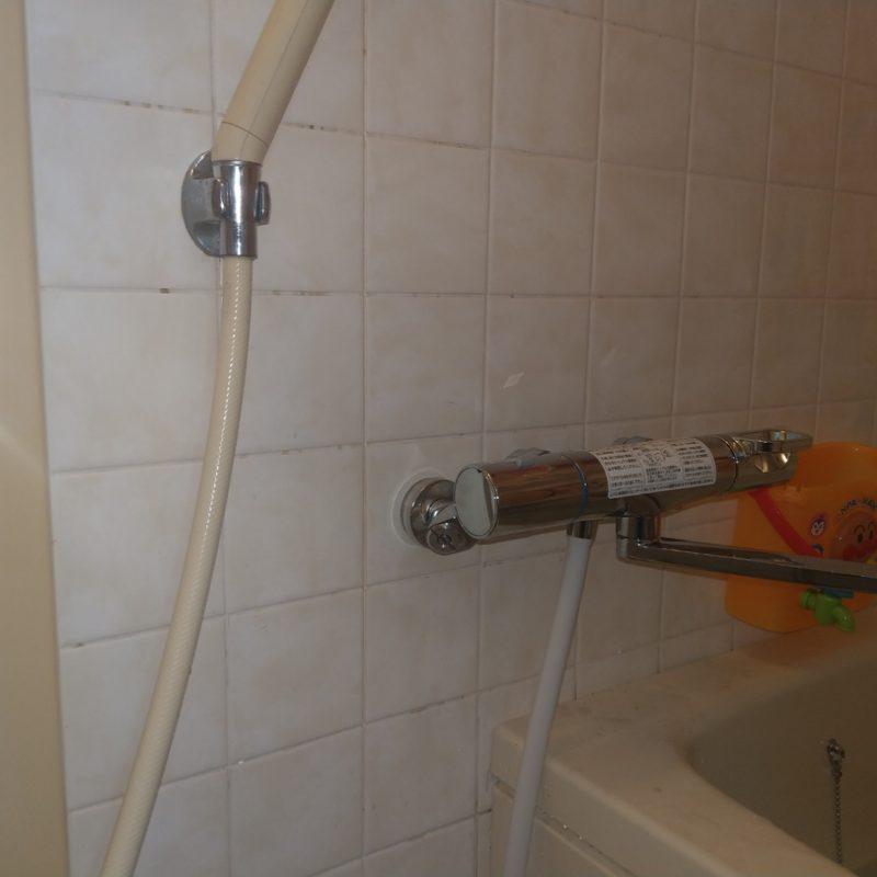 【風呂蛇口交換】大阪府大阪市鶴見区緑での浴室蛇口水漏れ修理