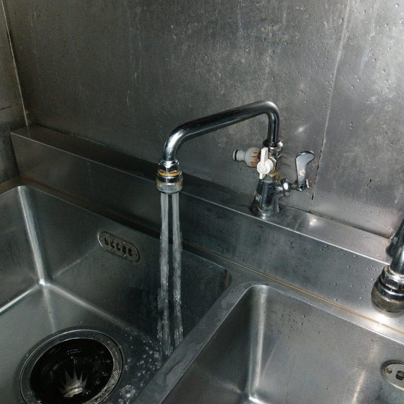 大阪府大阪市都島区飲食店キッチン蛇口水漏れ修理