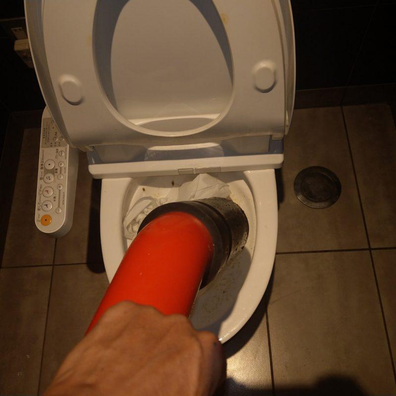 トイレが流れない依頼(トイレ詰まり)大阪府大阪市鶴見区放出東
