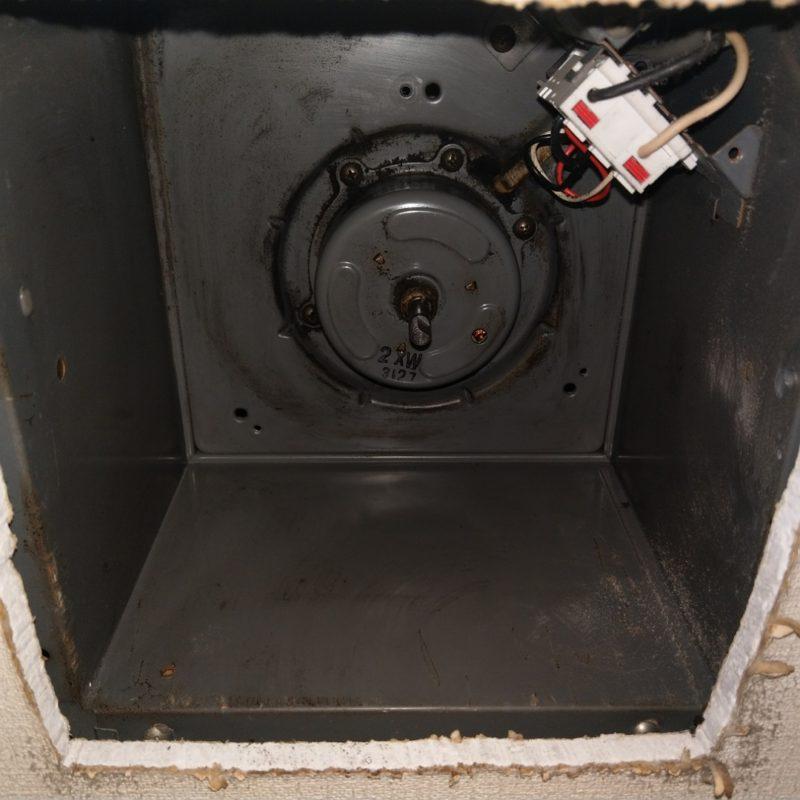 大阪府大阪市平野区でのトイレの換気扇がうるさい依頼