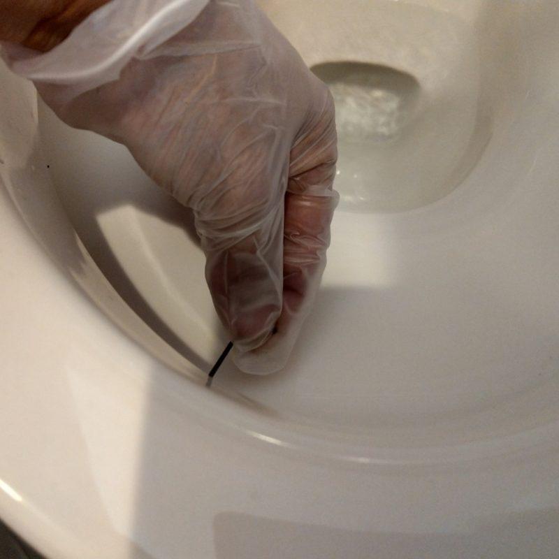 トイレの便器の流れが悪い修理・レバーがぐらつく修理依頼(大阪府大阪市鶴見区今津中)
