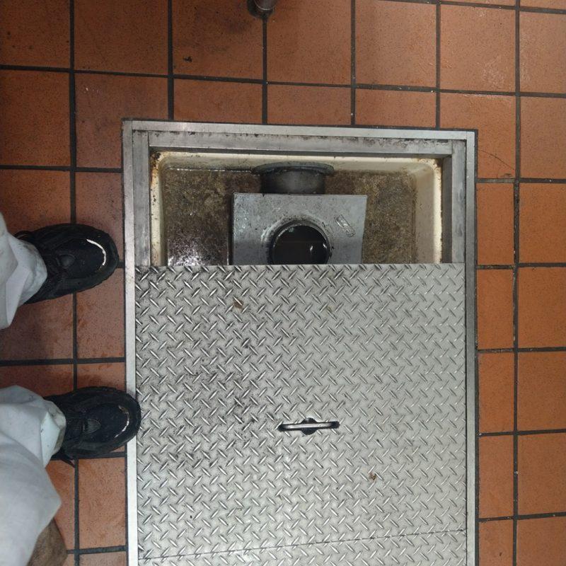 飲食店ドリンクバー排水管詰まりの依頼(大阪府大阪市東住吉区)